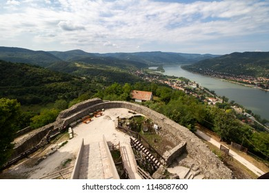 View from the castle of Visegrad, Hungary