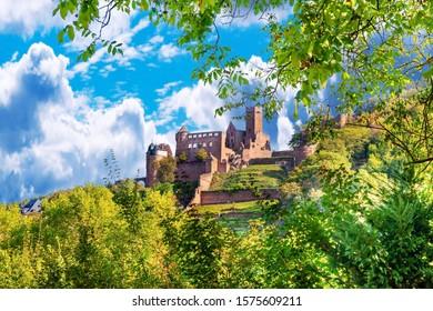 View of the castle Wertheim am Main