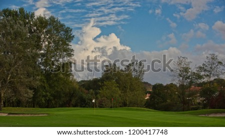 View of  Castres golf course