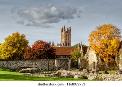 View of the Cathedral of Canterbury
