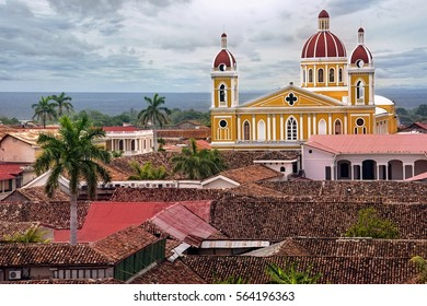 View of Cathedral Granada, Nicaragua