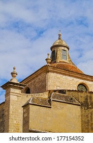 View of Cathedral of Mao on Menorca, Balearic Islands, Spain