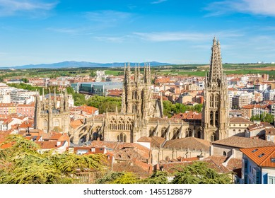 View at the Cathedral of Saint Mary in Burgos, Spain