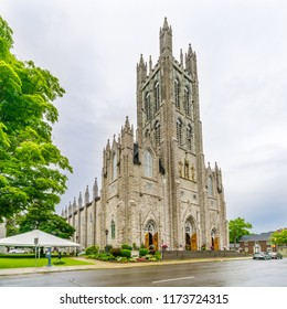 View at the Cathedral of Saint Mary in Kingston, Canada