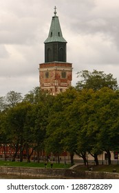 View of the Cathedral of Turku/Abo in Finland