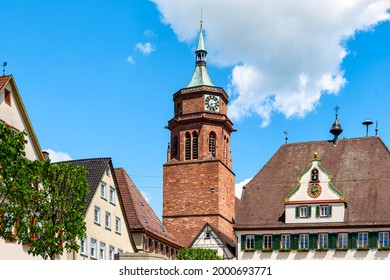 View to the Catholic Church St. Peter and Paul in Weil der Stadt, Germany - Shutterstock ID 2000693771