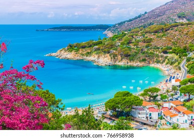 View of  Cavoli beach, Elba island, Tuscany, Italy.