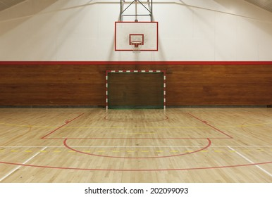 View from center court in old gymhall