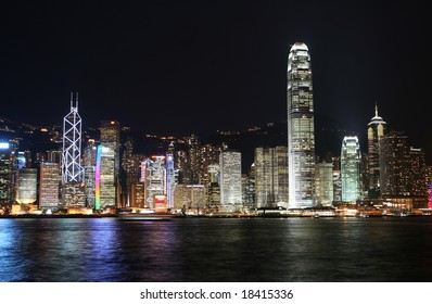 View of the central district, Hong Kong