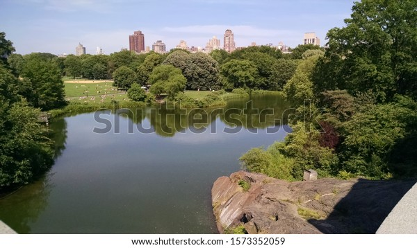 View of Central Park from the Belvedere Castle