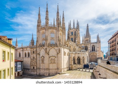 View at the Chapel of Cathedral of Saint Mary in Burgos, Spain