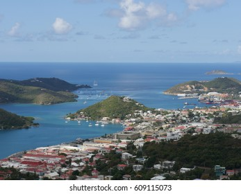 View  of Charlotte Amalie in St. Thomas, US Virgin Islands