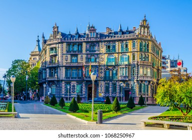 View of the Chavarri palace in Bilbao, Spain