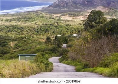 View from Cherry Tree Hill, Barbados