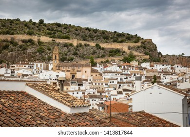 a view of Chulilla town, province of Valencia, Valencian Community, Spain