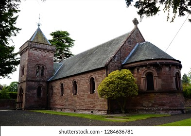 A view of a church building in the Perthshire town of Alyth