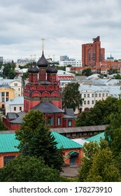 View of the Church of the Epiphany, Yaroslavl, Russia