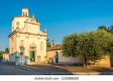 View at the church of Saint Antonio in Aquileia, Italy