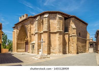 View at the Church of San Juan in Aranda de Duero, Spain