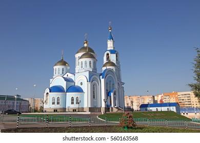 View at church in Saransk, Repulic Mordovia, Russian federation