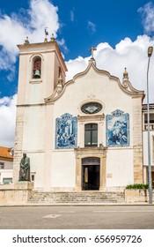 View at the Church of Vera Cruz in Aveiro - Portugal