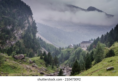view of the cirque of Gavarny France