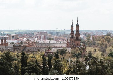 View of City and Buildings, Seville, Spain