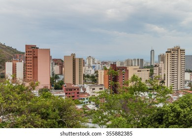 View of the city of Cali in Colombia