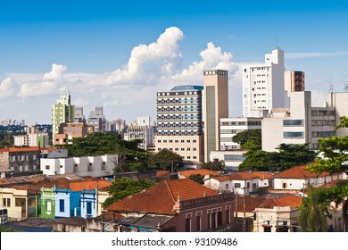View to the city of Campinas, Brazil
