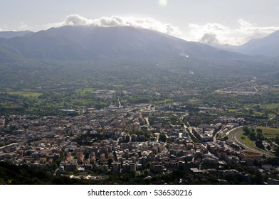 view of the city of Cassino