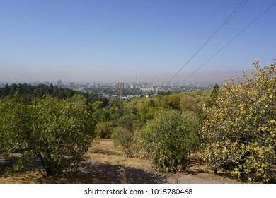 View to city center of Dushanbe, Tajikistan