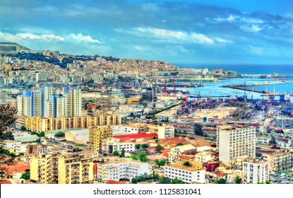 View of the city centre of Algiers, the capital of Algeria