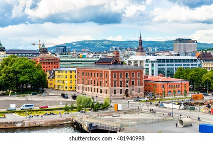 View of the city centre of Oslo, the capital of Norway