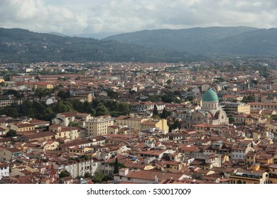 View of the city from the Dome of the Florence´s Cathedral, Santa Maria del Fiore
