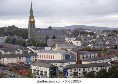View of the city of Londonderry, Northern Ireland, November 2007