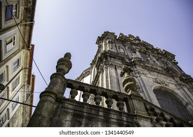 View of the city of oporto, detail of tourism in portugal