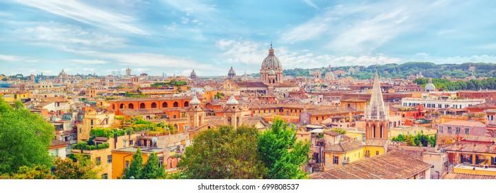 Imágenes Fotos De Stock Y Vectores Sobre Rome Roofs