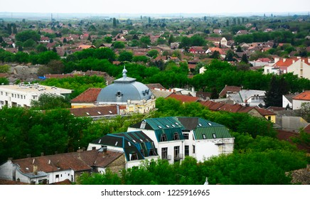 View of city Subotica,Serbia.Subotica
