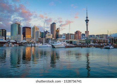 View of cityscape the city center, Auckland, New Zealand