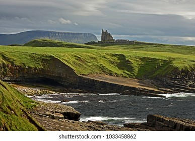view to Classiebawn castle from the west - Ireland