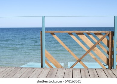 View of the clear sea. background