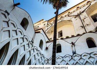 View of the cloister of Paradise, Amalfi Coast, Italy, Europe