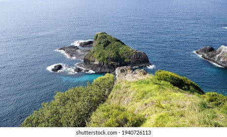 A view of the coast from Captain Cook Lookout on Norfolk Island