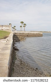 View of the coast in St. Augustine, Florida, USA.