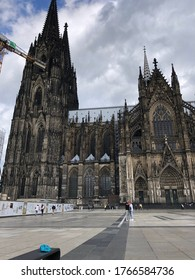 view of the Cologne Cathedral