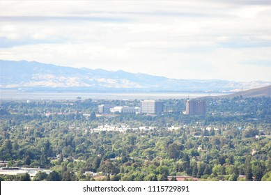 View of Concord, California from the foothills of Mt. Diablo.