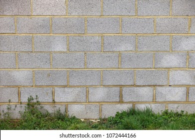 View of a Concrete Block Wall