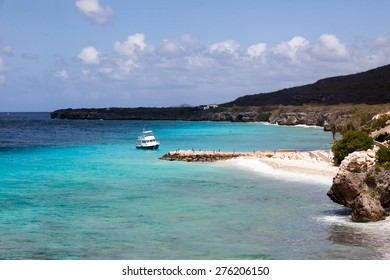 View from coral estate Curacao ( Dutch Antilles)  an island in the Caribbean Ocean