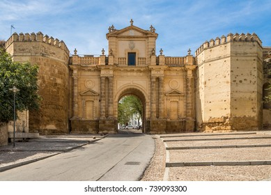 View at the Cordoba gate in Carmona - Spain