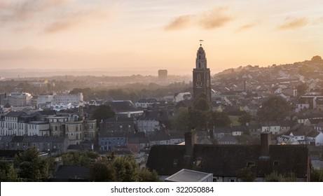 View of Cork City, Ireland.